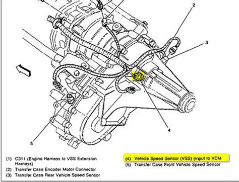 2001 Chevy Tahoe Speed Sensor by Rear Wheel Speed Sensor S 10 Forum