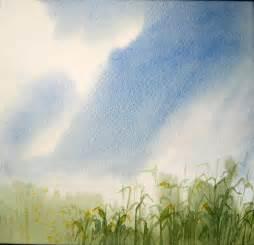 Simple Watercolor Landscape