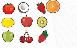 10 imanes de nevera las frutas! Descargar Vectores gratis
