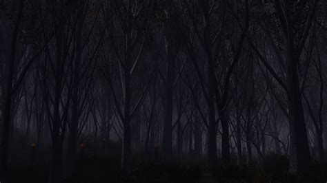 full hd wallpaper forest dark monster night desktop
