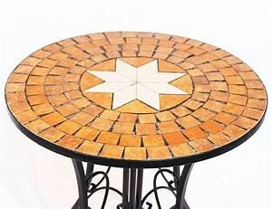 Mosaiksteine Auf Holz Kleben : tisch mosaik merano 12001 gartentisch d 60 cm metall beistelltisch rund dandibo ~ Markanthonyermac.com Haus und Dekorationen