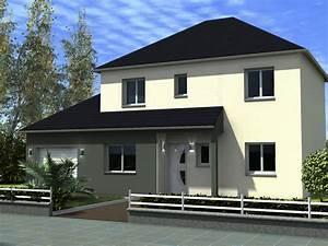 Maison contemporaine toit 4 pans for Maison toit plat en l 9 maison r 1 mandalore maisons lg