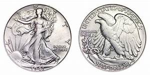 1941 S Walking Liberty Half Dollars Value And Prices