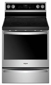 Whirlpool U00ae 6 4 Cu  Ft  Electric Freestanding Range With 5
