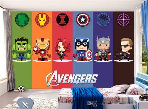 compre  avengers wallpaper hulk badge mural de la pared