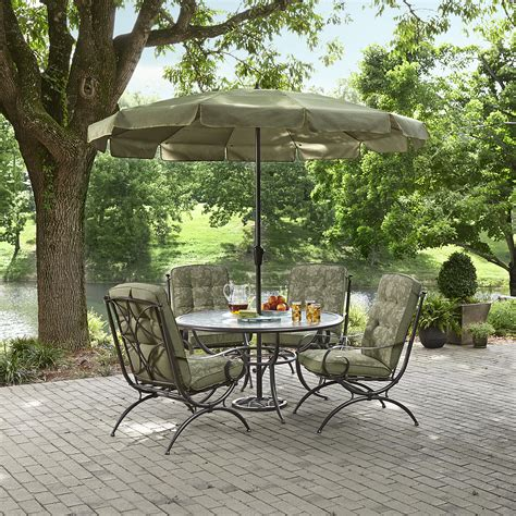 Kmart Smith Patio Table by Smith Cora Dining Table With Lazy Susan Kmart