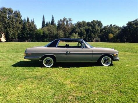 A mercedes coupe (glad i didn't pull the trigger on a sedan w114 as much as i love em) 60's styling (this has been the same body style since 1969) a resto. Sell used 1972 Mercedes Benz 250c Coupe W114 Restored Runs Great , RUST FREE ! in Fair Oaks ...