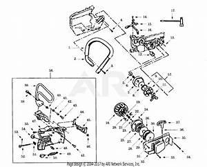 Poulan Pp375 Gas Saw  375 Gas Saw Parts Diagram For Clutch
