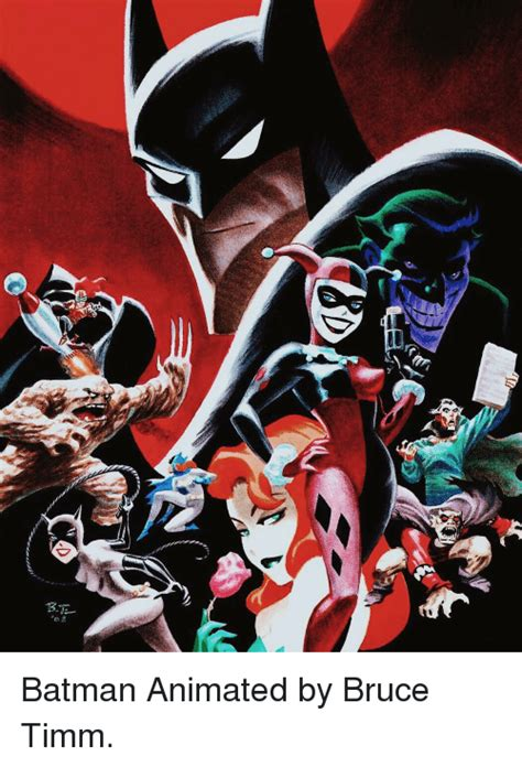 Bruce Animated Wallpaper - w bten batman animated by bruce timm batman meme on sizzle