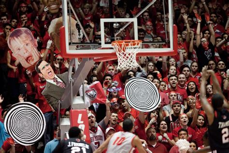 funniest  throw distractions  college basketball