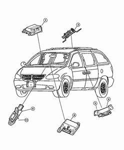 Dodge Grand Caravan Sensor Kit  Impact  But