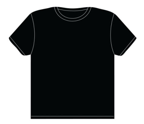 Black T Shirt Template Black T Shirt Template Pictures To Pin On