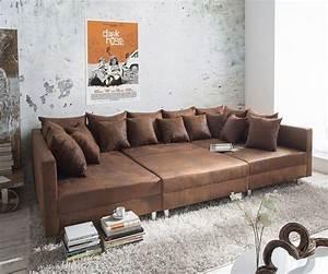 Möbel Xxl De : couch clovis xxl braun 300x185 hocker kissen wohnlandschaft k che haushalt ~ Yasmunasinghe.com Haus und Dekorationen