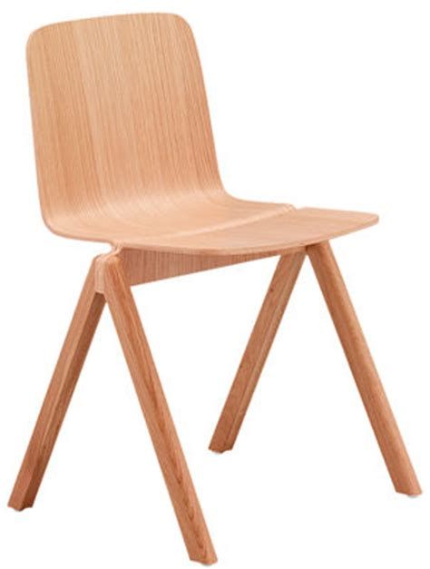 hay chaise copenhague stackable chair wood oak by hay