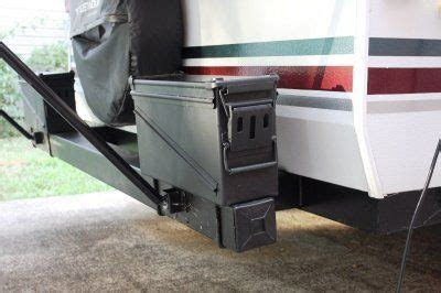 ammo cans mounted   rear bumper add additional