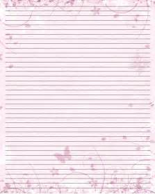 Butterfly Writing Paper Printable