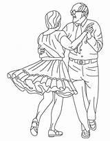 Coloring Dance Pages Square Alabama Folk State Dancing Barbie Printable Getcolorings Princesses Twelve sketch template