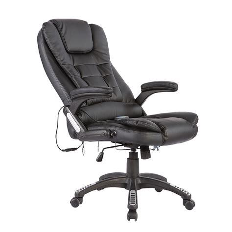 executive office chair heated vibrating ergonomic