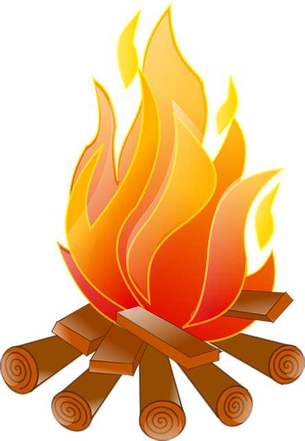 Fireplace Der Clip - fogueira fogo troncos de 193 rvore 183 gr 225 fico vetorial gr 225 tis
