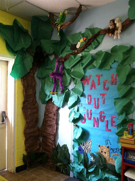 junglesafari theme classroom