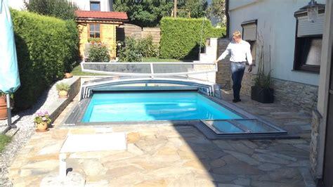 Whirlpool Für Kleinen Garten by Pool 220 Berdachung F 252 R Kleinen Garten