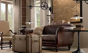 Wohnzimmer Im Vintage Look Mbel Steampunk Mbel