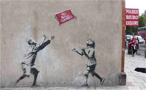 Banksy Graffiti Artwork