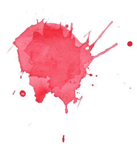6 watercolor splatter png transparent onlygfx