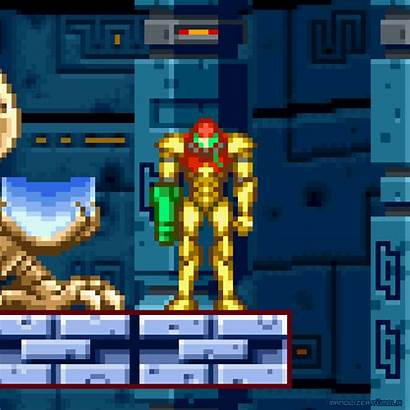 Metroid Games Gba Samus Nintendo Zero Mission