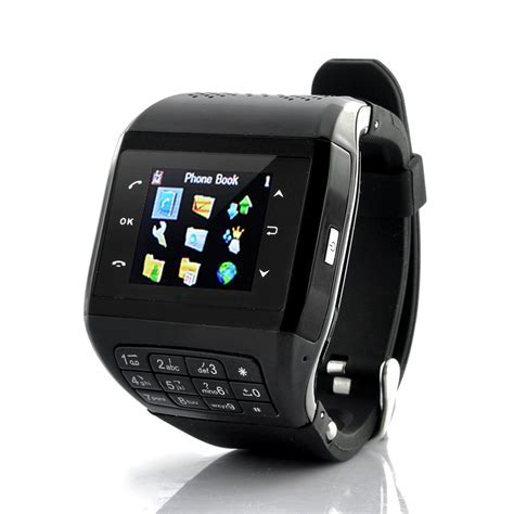 """Mobile Phone Watch """"Panther""""   Quad Band GSM, Touchscreen"""