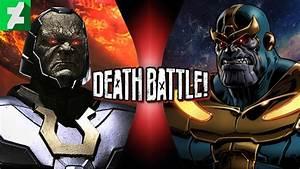 DEATH BATTLE - Darkseid VS Thanos - Fight by SpyKrueger on ...