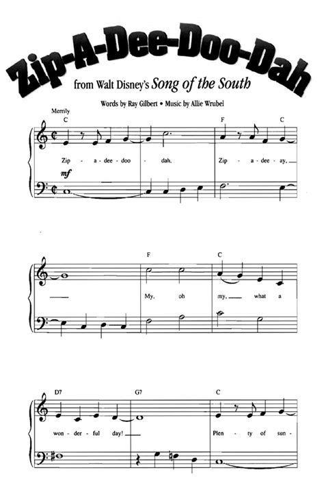 You just can't have too much beginner piano music! 42 Beginner Easy Disney songs Free Sheet Music | sivom-bj