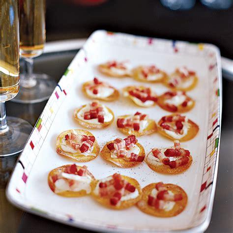 mini tartes flambees recipe gabriel kreuther food wine