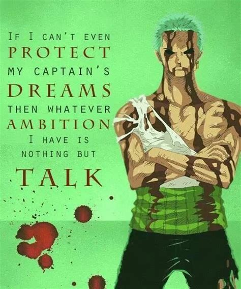 roronoa zoro quotes google search  piece quotes