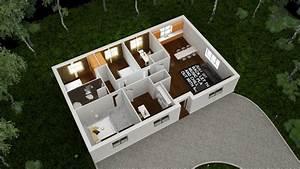 plan maison 3d sur terrain With maison sweet home 3d 12 plan maison 3d sur terrain