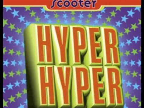Scooter-//-Hyper hyper (+LYRICS) - YouTube