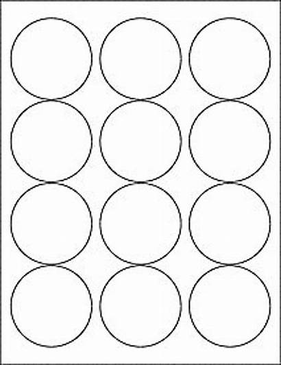 Round Printable Stickers Label Circle Sticker Labels