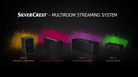 Produktvideo  Silvercrest Multiroom Soundsystem Lidl