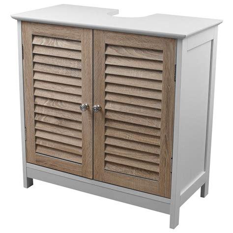 Badezimmer Waschbeckenunterschrank Holz by Waschbeckenunterschrank Mit 2 T 252 Ren 60x30x60cm Holz Mdf