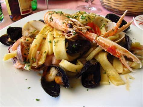 pates aux fruits de mer linguine spaghetti recette