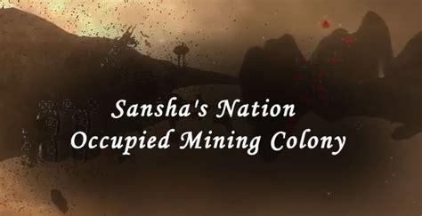 Sansha's Nation Occupied Mining Colony
