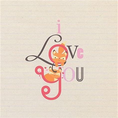 fox  love  valentines day card karenza paperie