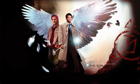 Supernatural Anime Wallpaper - gabriel and castiel supernatural wallpaper gabriel from