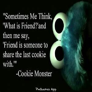 Funny Cookie Monster Quotes. QuotesGram