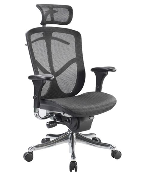 eurotech fuzion fuz9lx hi mesh office chair raynor with
