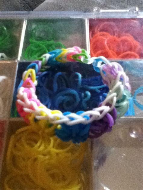 Rubber Band Bracelet Starburst