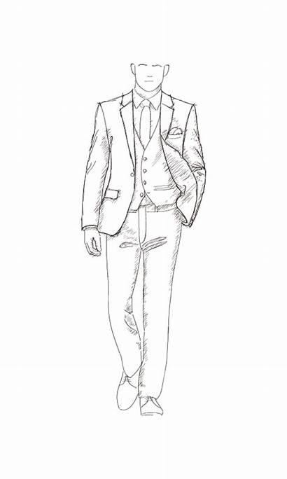 Formal Wear Tuxedo Tailor Jantzen Flap Lapel