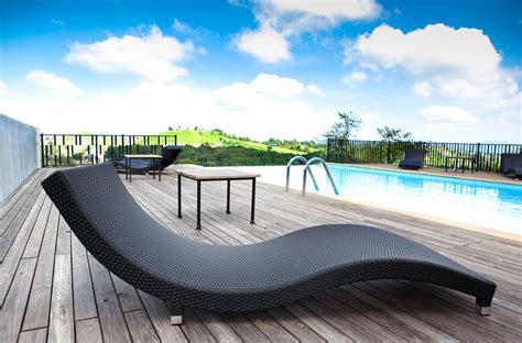 transat pour piscine fauteuil bain de soleil pas cher mhamiable