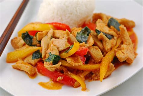 thai chicken thai chicken pizza with sweet chili sauce recipe dishmaps