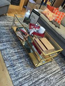 west elm wonderfulness carrie d mader With west elm gold coffee table